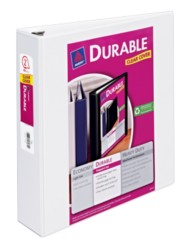 "Avery® Durable View Binder with 2"" Slant Rings 17032, Packaging Image"