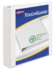 Avery TouchGuard Antimicrobial View Binder