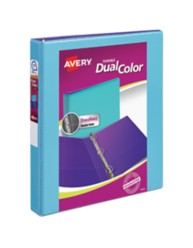 Avery Durable View Dual Color Binder 17215