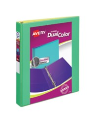 Avery Dual Color Durable View Binder 17217