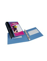 "Avery® Mini Durable View Comfort Touch Binder for 5-1/2"" x 8-1/2"" Pages with 1"" Round Ring 17347, Packaging Image"