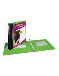 "Avery® Comfort Touch Durable View Binder with 1"" Slant Rings 17407, Packaging Image"