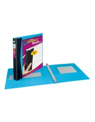 "Avery® Comfort Touch Durable View Binder with 1"" Slant Rings 17408, Packaging Image"