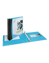 "Avery® Comfort Touch Durable View Binder with 1"" Rings 17411, Application Image"
