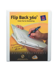 "Avery® Flip Back® 360° Binder with 1"" Ring 17560, Packaging Image"