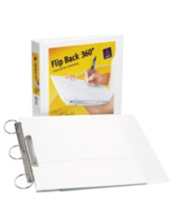 "Avery® Flip Back® 360° Binder with 1-1/2"" Ring 17570, Packaging Image"