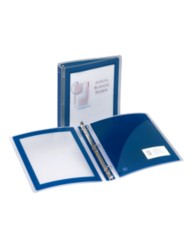 "Avery® Flexi-View™ 1-1/2"" Binder 17638, Application Image"