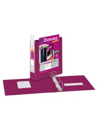 "Avery® Durable View Binder with 2"" Slant Rings 17836, Pink"