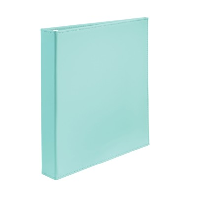 "MSHO Extra-Wide Polyurethane Binder with 1"" One Touch EZD Ring, Blue 18583"