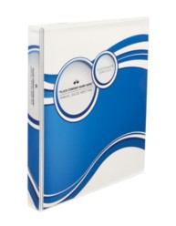 "Avery® Designer View Binder with 1"" Slant Rings 18601, Packaging Image"
