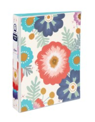 "Avery Mini Durable Style Binder with 1"" Round Rings 18701, Floral, 5-1/2"" x 8-1/2"""