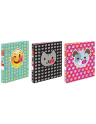 Avery Peek A View Emoji Binders