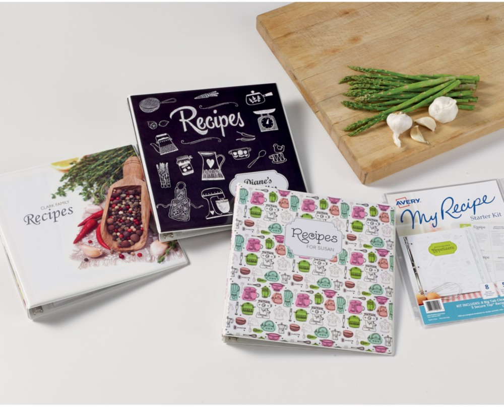 Collect a recipe book of family favorites as a keepsake at the family reunion.
