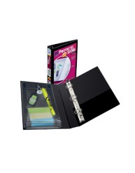 "Avery® Mini Durable View Protect & Store™ Binder for 5-1/2"" x 8-1/2"" Pages with 1"" Rings 23043, Packaging Image"