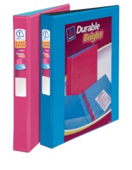 "Avery® Durable Bright View Binder with 1"" Slant Rings 25641, Packaging Image"