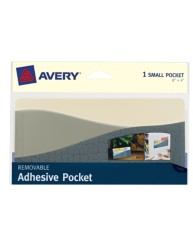 Avery® Removable Adhesive Pocket 40212, Packaging Image