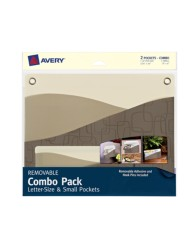 Avery® Removable Combo Pack Letter-Size & Small Pockets 40216, Packaging  Image