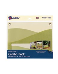 Avery® Removable Combo Pack Letter-Size & Small Pockets 40217, Packaging Image