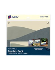 Avery® Removable Combo Pack Letter-Size & Small Pockets 40218, Packaging Image