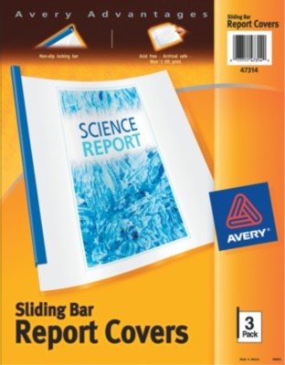 Sliding Bar Report Covers 47314