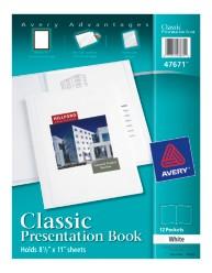 Classic 12-Page Presentation Book