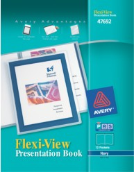 Flexi-View 12-Page Presentation Book