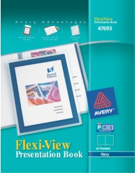 Flexi-View 24-Page Presentation Book