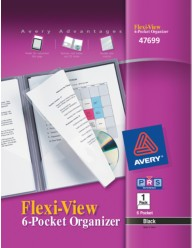Flexi-View 6-Pocket Organizer