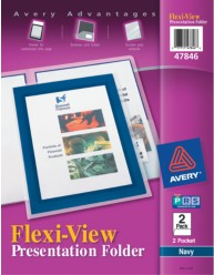 Flexi-View Presentation Two Pocket Folders