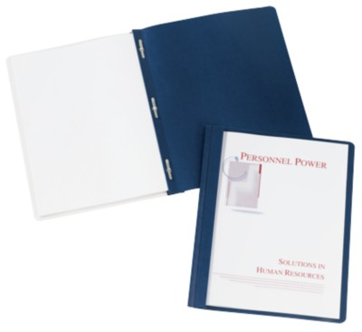 Clear Front Report Covers - Coated Paper 47961