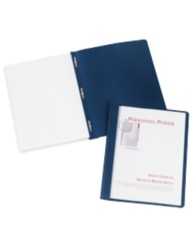 Clear Front Report Covers - Coated Paper