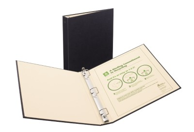 "Recyclable Binder 1"" Black 50000"