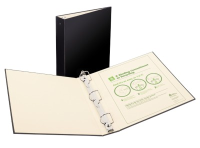 "Recyclable Binder 1.5"" Black 50004"