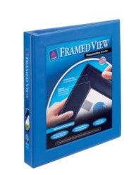 "Avery® Framed View Binder with 1"" One Touch EZD™ Ring 68028, Packaging Image"