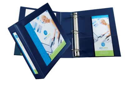 "Avery Framed View Binder 2"" Navy 68033"