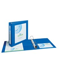 "Avery® Framed View Binder with 2"" One Touch EZD™ Rings 68034, Application Image"
