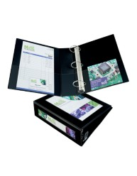 "Avery® Framed View Binder with 3"" One Touch EZD™ Rings 68037, Application Image"
