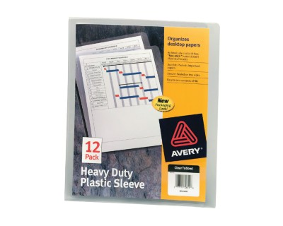 Heavy Duty Plastic Sleeves 72611