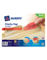 Avery® Priority Flag File Folder 73513, Packaging Image