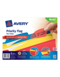 Avery® Priority Flag File Folder 73514, Packaging Image