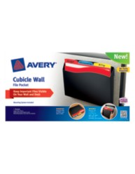 Avery® Cubicle Wall File Pocket 73515, Packaging Image