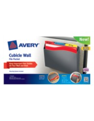 Avery® Cubicle Wall File Pocket 73516, Packaging Image