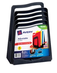 Avery® Adjustable File Rack 73523, Packaging Image