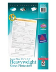 Legal Size Poly Sheet Protectors 73897, Packaging Image