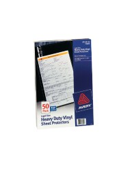Legal Size Vinyl Sheet Protectors