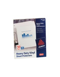Heavy Duty Vinyl Sheet Protectors