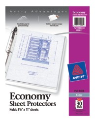 Economy Sheet Protectors 74082, Packaging Image