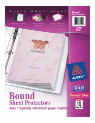 Bound Sheet Protectors Set