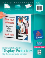 Display Protectors With Removable Adhesive