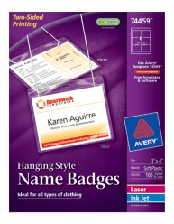Insertable Name Badges